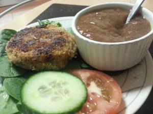 quinoa & veg cutlets