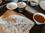 Dosa, Chutney & Sambar at Bangalore Airport