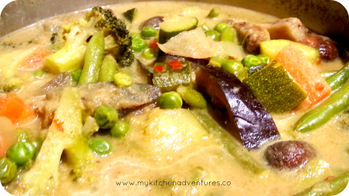 thai green curry PM