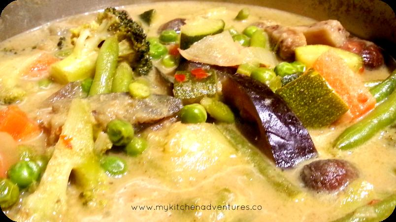 thai green curry PM
